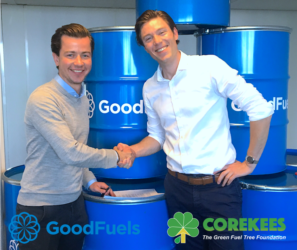 GOODFUELS AND THE COREKEES FOUNDATION SIGNED A PARTNERSHIP